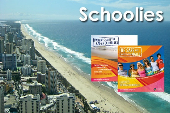 Schoolies week can be a challenging time for parents and young people. Our Schoolies Week pages offer practical guidance to support a safe, informed and fun Schoolies celebration. Find tips on staying safe, looking after your friends and Schoolies Week activities.