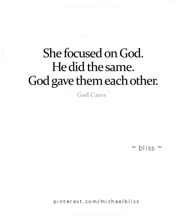 Focus on God and enjoy being single.. He will come soon enough!