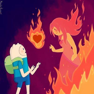 Princesa flama y Finn
