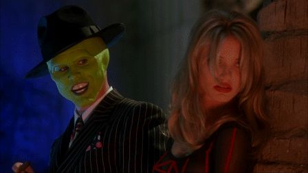 Cameron Diaz The Mask gif you were good kid real good but as long as I'm around you'll always be second best see