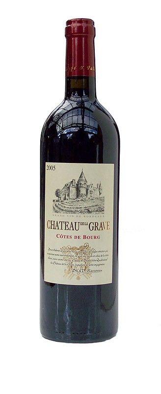 Chateau de la Grave, Côtes de Bourg