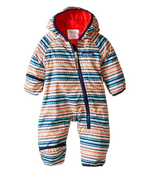 Patagonia Kids Baby Reversible Puff-Ball Bunting (Infant/Toddler)