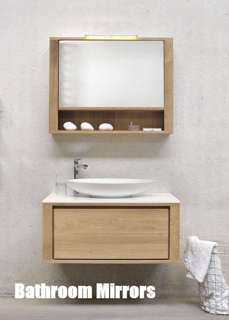 Bathroom Mirrors Bathroom Vanity Oak Bathroom Bathroom Mirror Cabinet