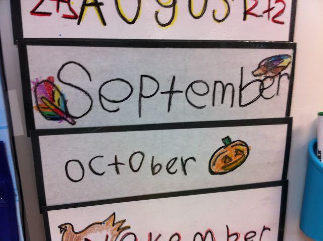 Calendar Design For Kindergarten : Quot reggio inspired child made calendar classroom