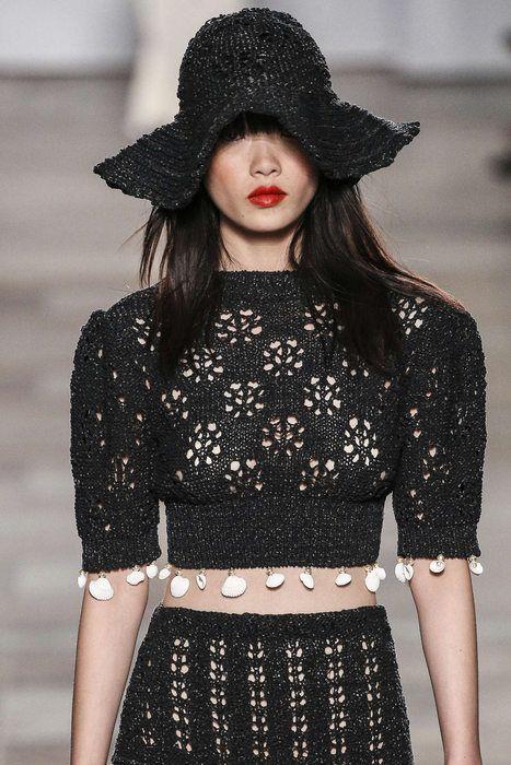 Sonia Rykiel, Spring-Summer 2018, Paris, Womenswear