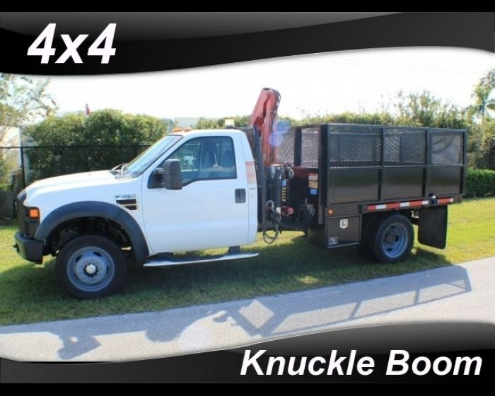 2008 FORD F-450 KNUCKLE BOOM CRANE TRUCK 4x4, http://www.afetrucks.com/medium-duty-trucks---crane-trucks-2008-ford-f-450-knuckle-boom-crane-truck-used-pinellas-park-fl_vid_18213_rf_pi.html