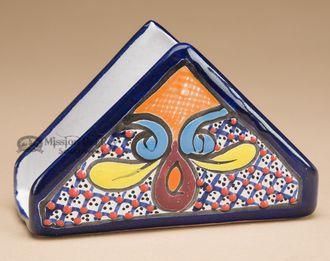 Southwest Painted Napkin Holder -Talavera (p473)