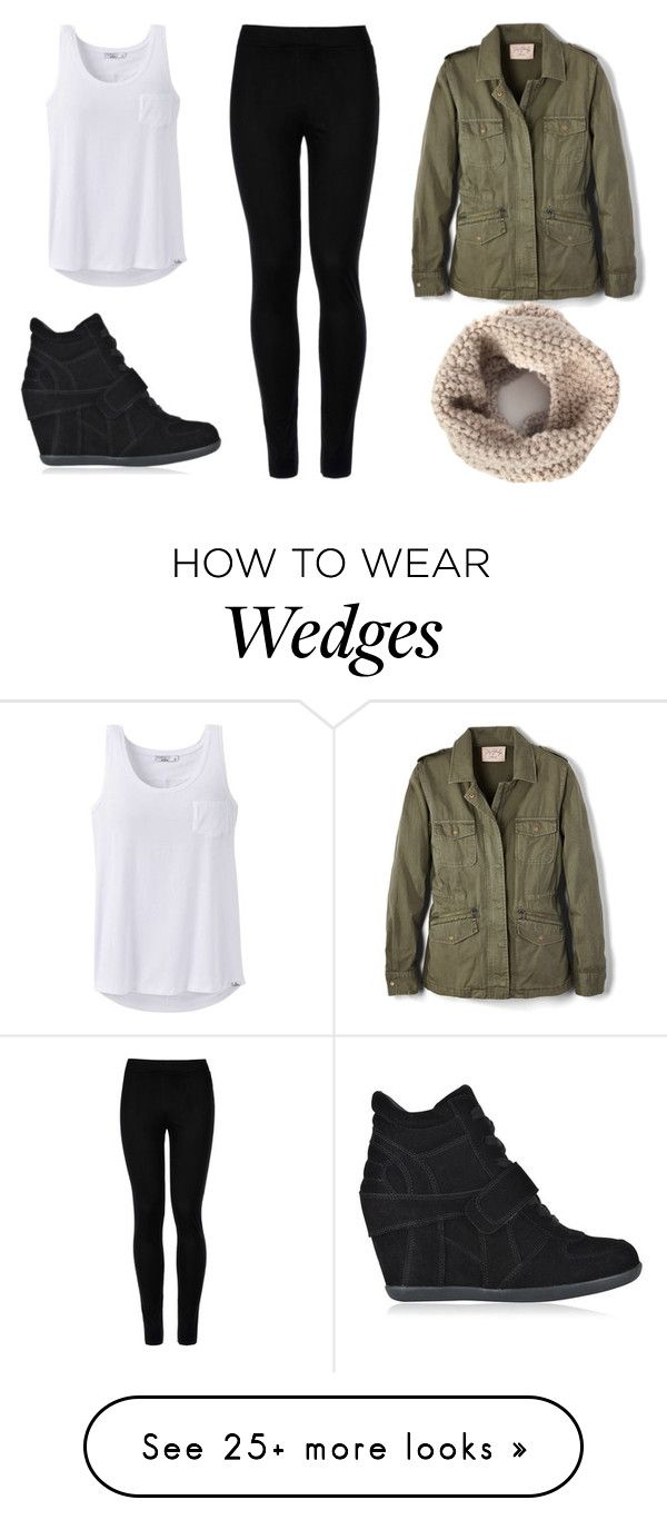 """Wedge Sneakers"" by realitybytes85 on Polyvore featuring Ash, Wolford, prAna and Velvet by Graham & Spencer"