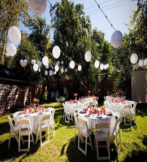 Low Budget Wedding Decorations: Best 25+ Small Backyard Weddings Ideas On Pinterest