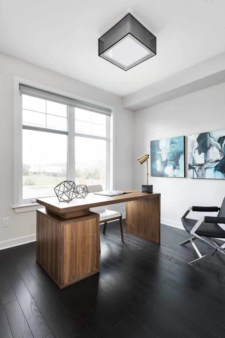 This is the study in the Sutton model home located in our Poole Creek community in Kanata/Stittsville.