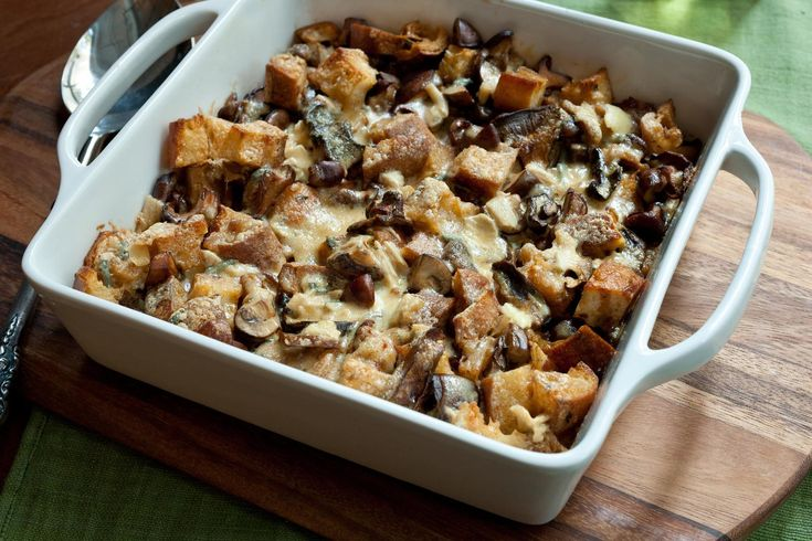 Mixed Mushroom Casserole Recipe - Definitely ways to make this one easier and also less calorie dense