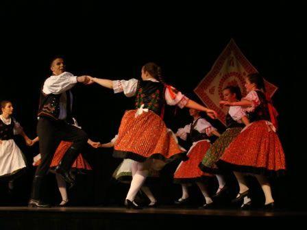 Beautiful Hungarian Dancers