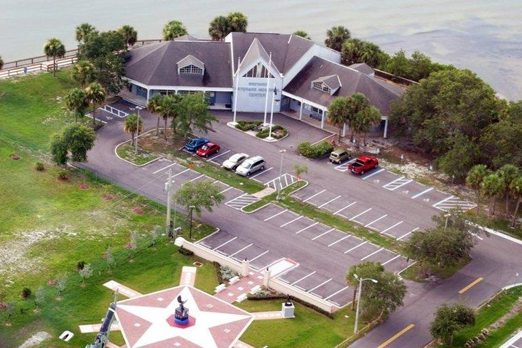 Aerial View Of Veterans Memorial Park Merritt Island Fl