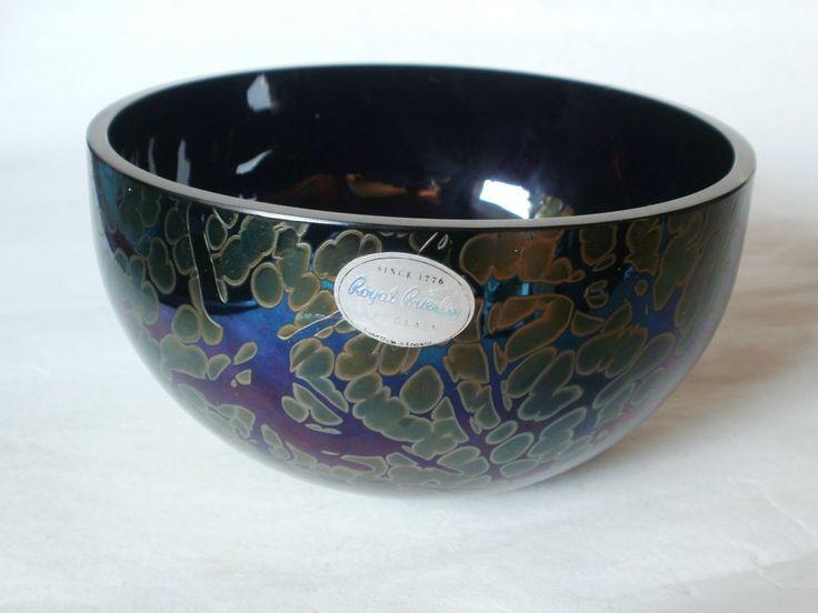 Coloured Bowl Glass