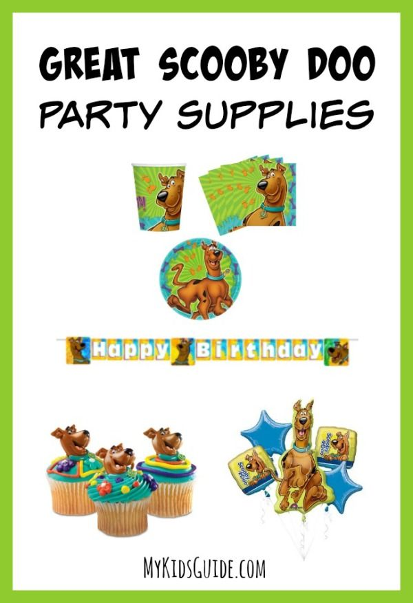 No Mystery Here! These Scooby Doo Party Supplies Rock!: If you have a Scooby Doo fan in your home, this list of Great Scooby Doo Party Supplies is sure to give you everything you need to throw an amazing party.