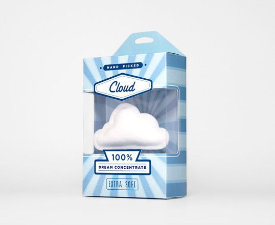 """Designed by Cloud Inc   Country: Australia  """"Hand picked cloud in a packet. Studio promotional piece."""""""