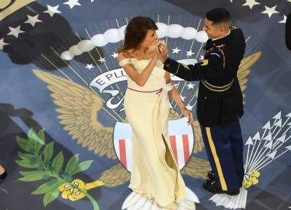 El latino que le puso sabor al baile de Melania Trump - Diario La Prensa