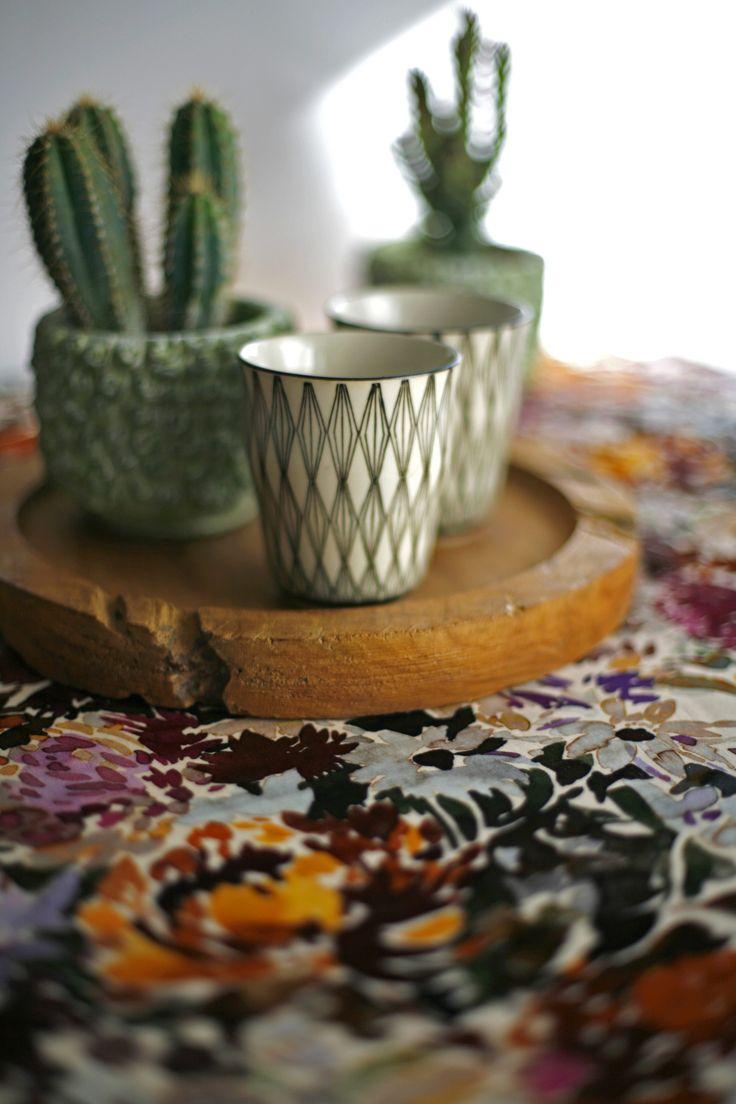 Wild-Flower Collection 2016 by Barbara Osorio Fabrics  @ www.tandco.co.za