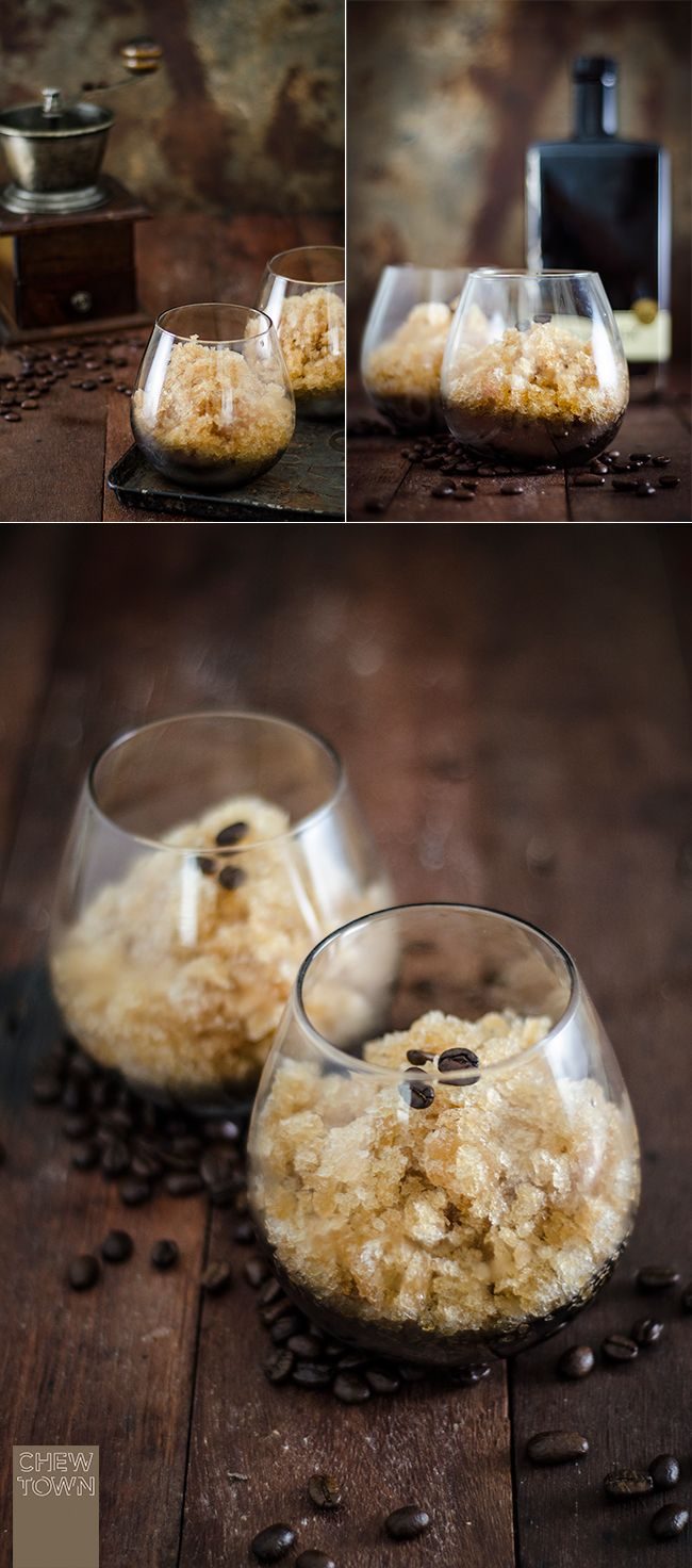 Check out this website: awesomely beautiful! Espresso Martini Granita Recipe | Chew Town Food Blog