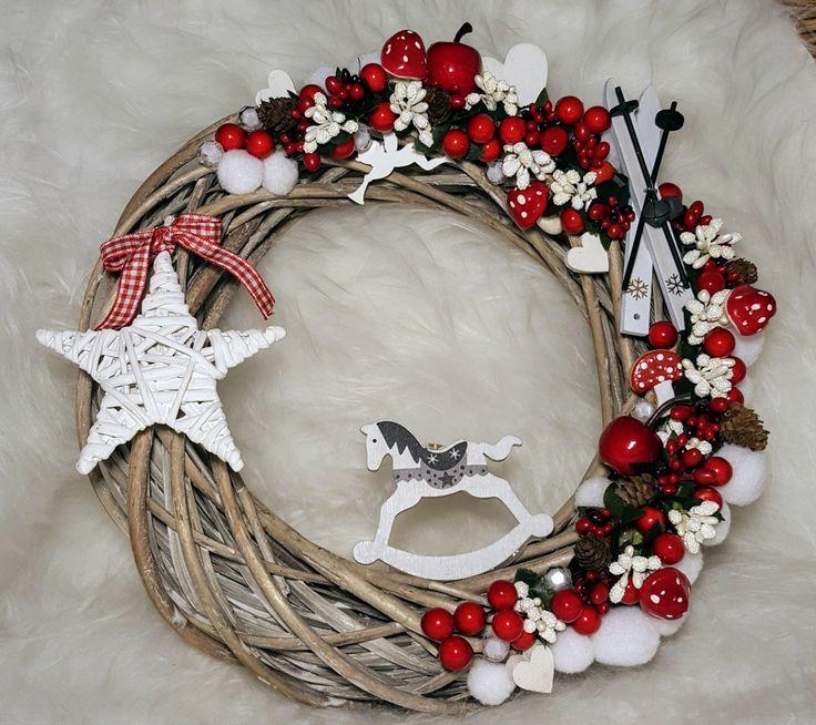 Christmas wreath for front door ❤