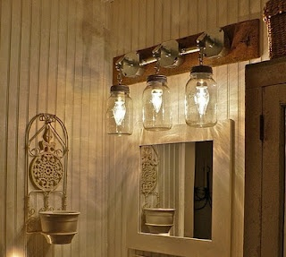 Mason Jars Vanity Lights For The Home Pinterest