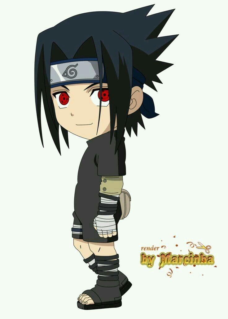 Uchiha Sasuke (Chunin exam)   Anime chibi   Personagens