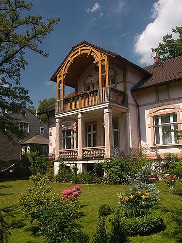 ...villa...poland, Lower Silesia, Oborniki Slaskie, villa in Dworcowa Str.