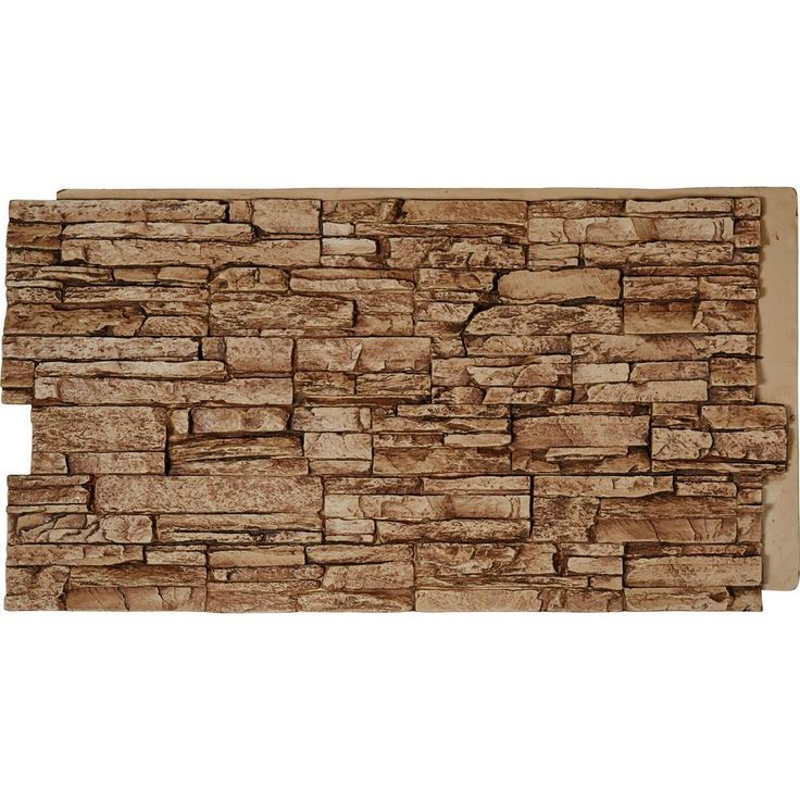 Ekena Millwork 48 In X 24 In Canyon Ridge Stacked Stone