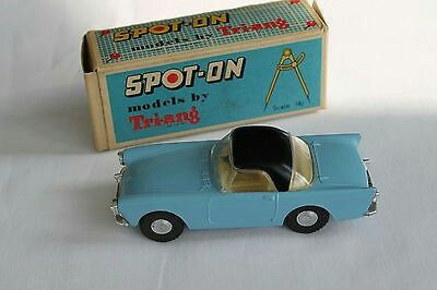 Spot-On 191/1 Blue Sunbeam Alpine Hard Top Issued 1961-66. About Mint.  £195.00