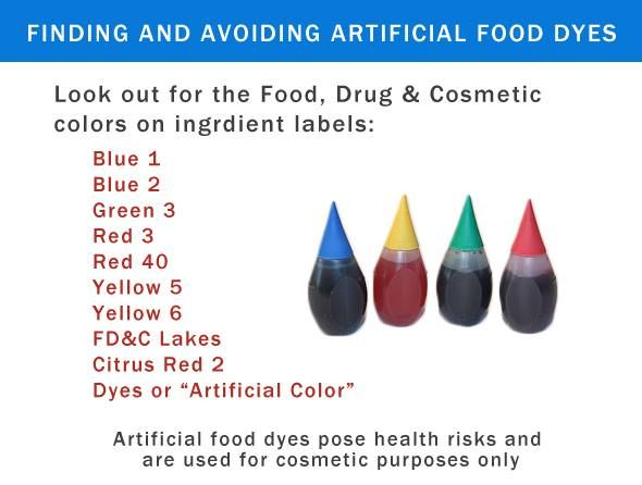 7 best Artificial Food Dye and Behavior images on Pinterest ...