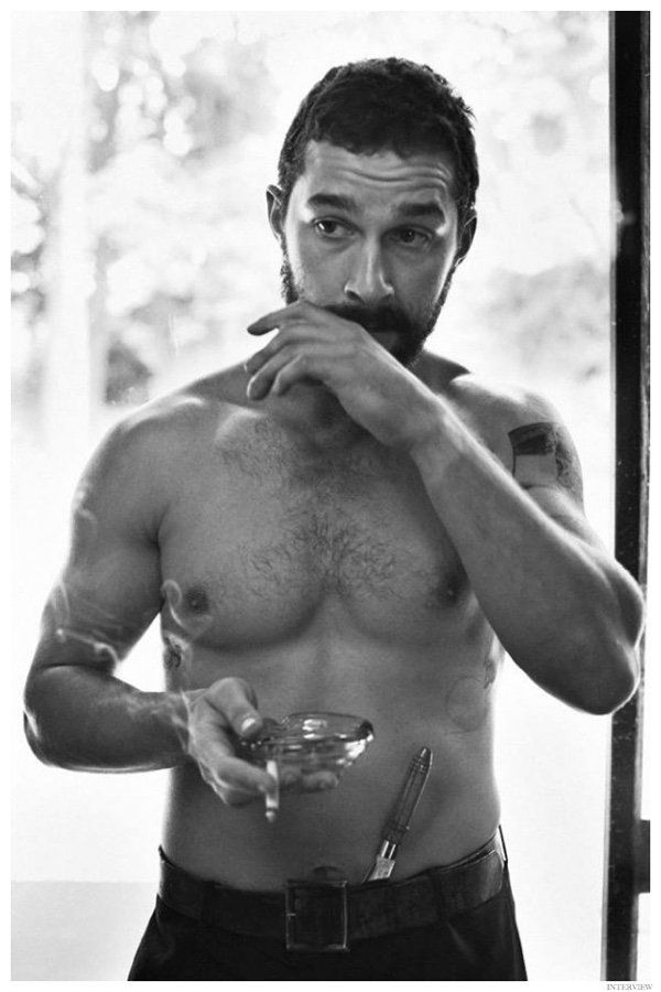 See More Images from Shia LaBeouf Interview November 2014 Photo Shoot image Shia LaBeouf Shirtless Interview Photo Shoot November 2014 002