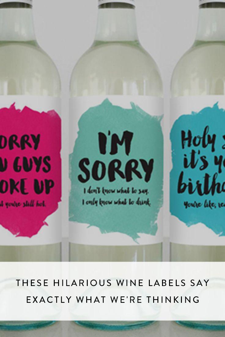 best 25  funny wine labels ideas on pinterest