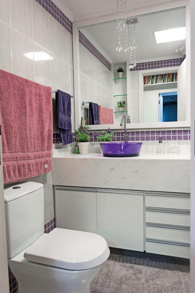 Cubas diferentes para banheiros e lavabos