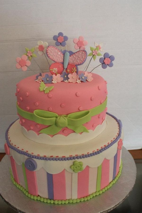 butterfly+baby+shower | in pastel butterfly baby shower cake in album baby shower