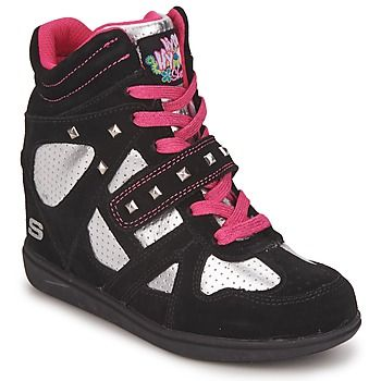 Ψηλά Sneakers Skechers DOUBLE TROUBLE - http://athlitika-papoutsia.gr/psila-sneakers-skechers-double-trouble/