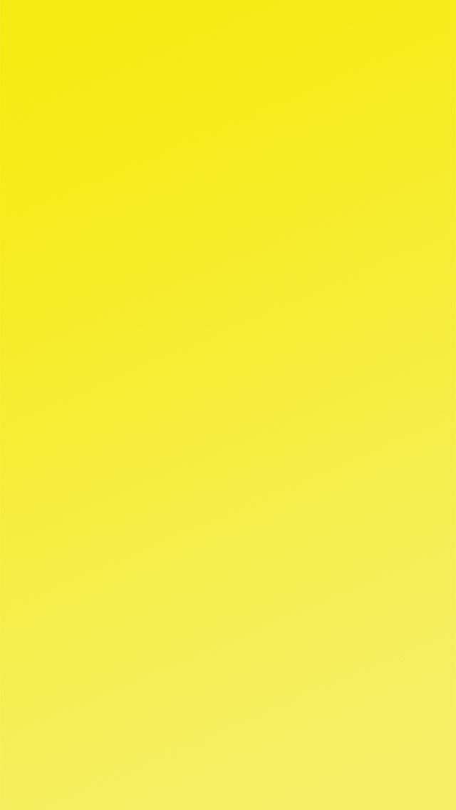 Yellow wallpaper for iPhone 5/6 plus