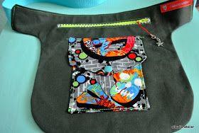 Beim Walken in den jackenlosen Monaten   find ich gerade noch einen Platz für den   Hausschlüssel (Minitasche am Hosenbund) -   ...