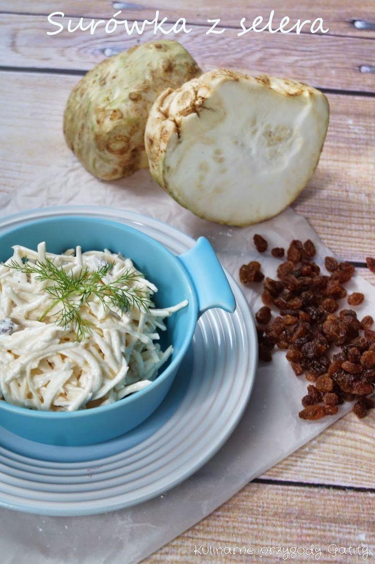 Kulinarne przygody Gatity: Zdrowa surówka z selera