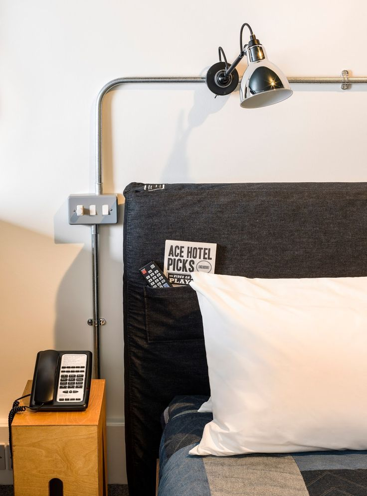 The Ace Hotel is one of London's newest 5* hotels. Located in trendy Shoreditch, its bold and modern design are perfectly suited to the surroundings.