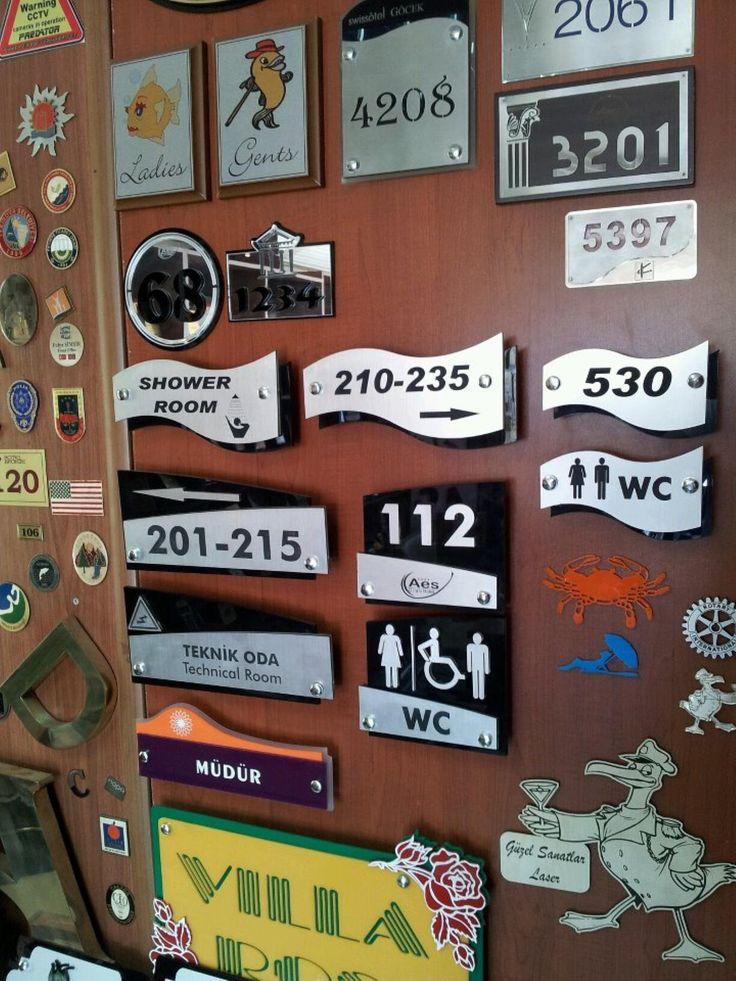 Otel kapı numaraları