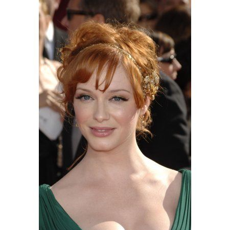 Christina Hendricks At Arrivals For Arrivals - 60Th Annual Primetime Emmy Awards Canvas Art - (16 x 20)