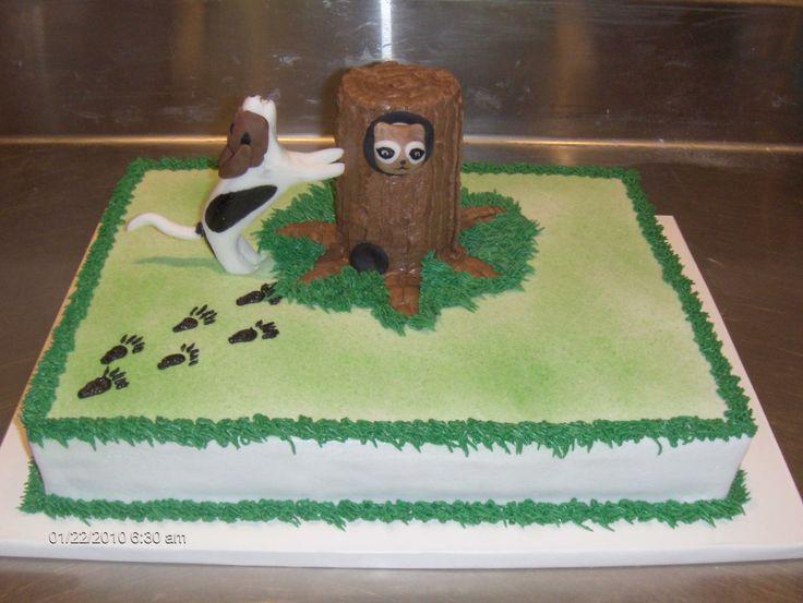 Dog Steals Birthday Cake From Dog