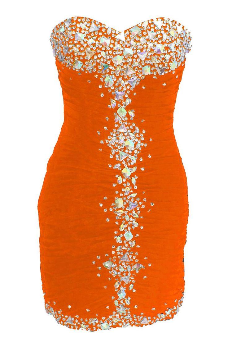 Dressystar short homecoming dresses, orange homecoming dresses, sexy homecoming dress under 50, 2015 homecoming dresses,juniors homecoming dresses,vintage homecoming dress