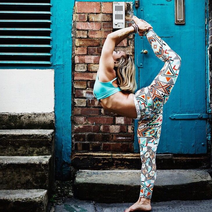 Yoga away in SOHO via kinoyoga (IG).