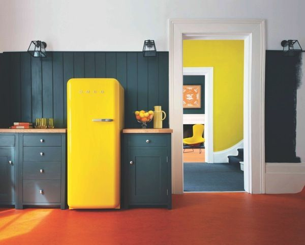 Color Trends for Fall 2015 and Winter 2016: I saw a lot of color in home fashion in my travels around the globe from The London Design Festival to New York's Architectural Digest Show attending this season's design events. Appliances in rainbow hues are replacing stainless steel and just about every major manufacturer has added color to their product lines.