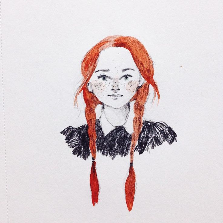 An Anne of Green Gables warmup sketch. Anyone else spend their childhood obsessed with the 80's miniseries?