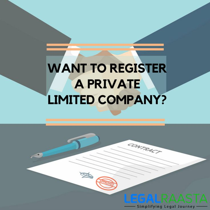want to register a private limited company?