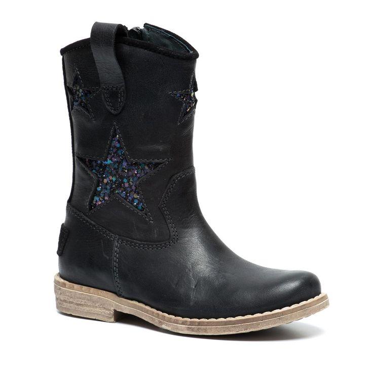 Piure zwarte leren laarzen online bestellen | Intreza.nl; 89,99 euro