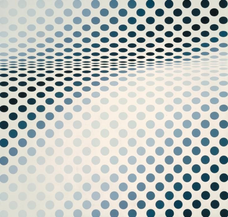 Bridget Riley 'Hesitate', 1964 © Bridget Riley 2015. All rights reserved, courtesy Karsten Schubert, London