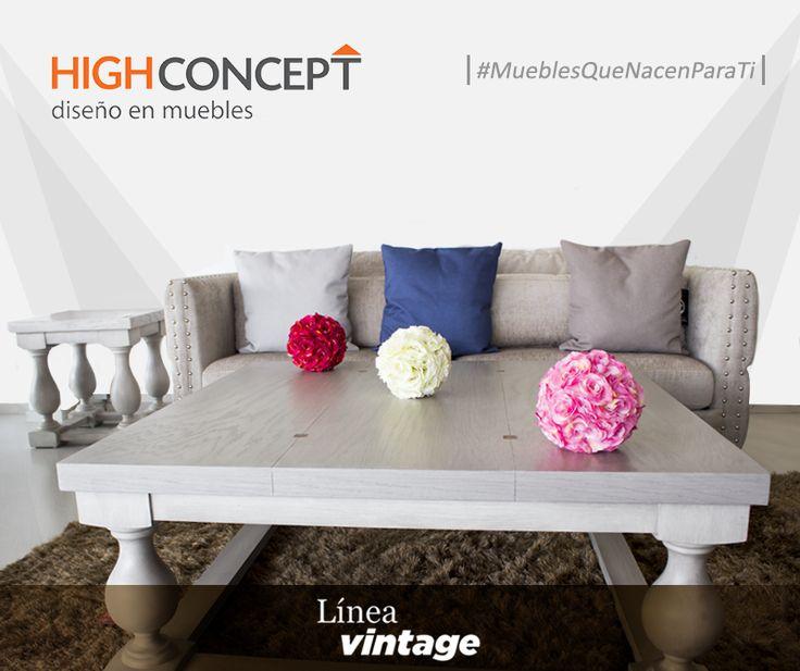 Muebles estilo clásico, confeccionado a mano con materiales importados. Lleva la elegancia vintage a tu sala.